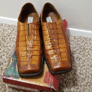 Other - Men's Brown Textured Shoes